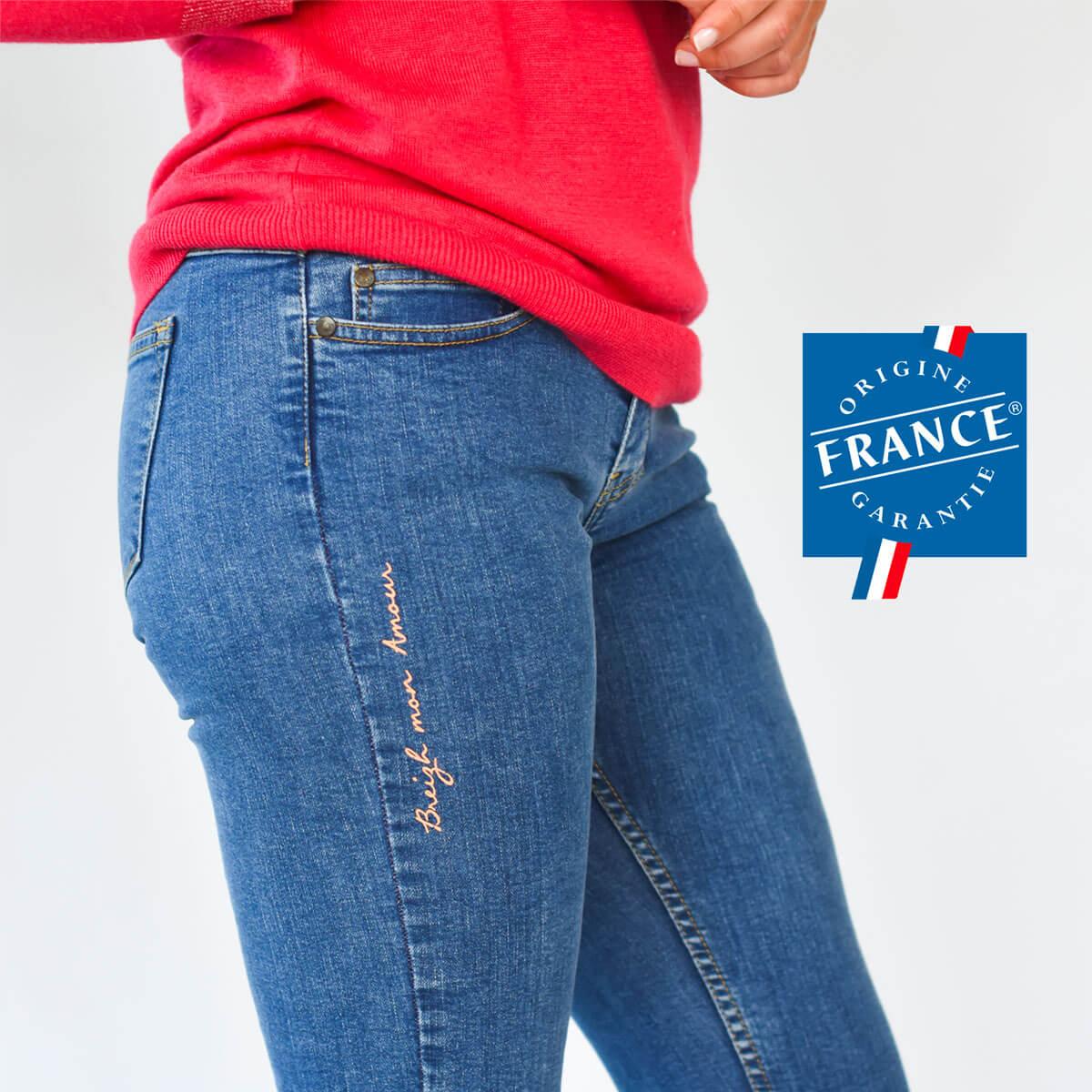 Jean fabriqué en France Perros-Guirec