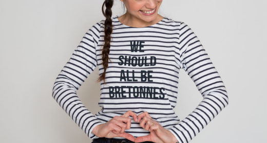 Article Breizh Angel Tro Breizh de la mode - marinière Dinard
