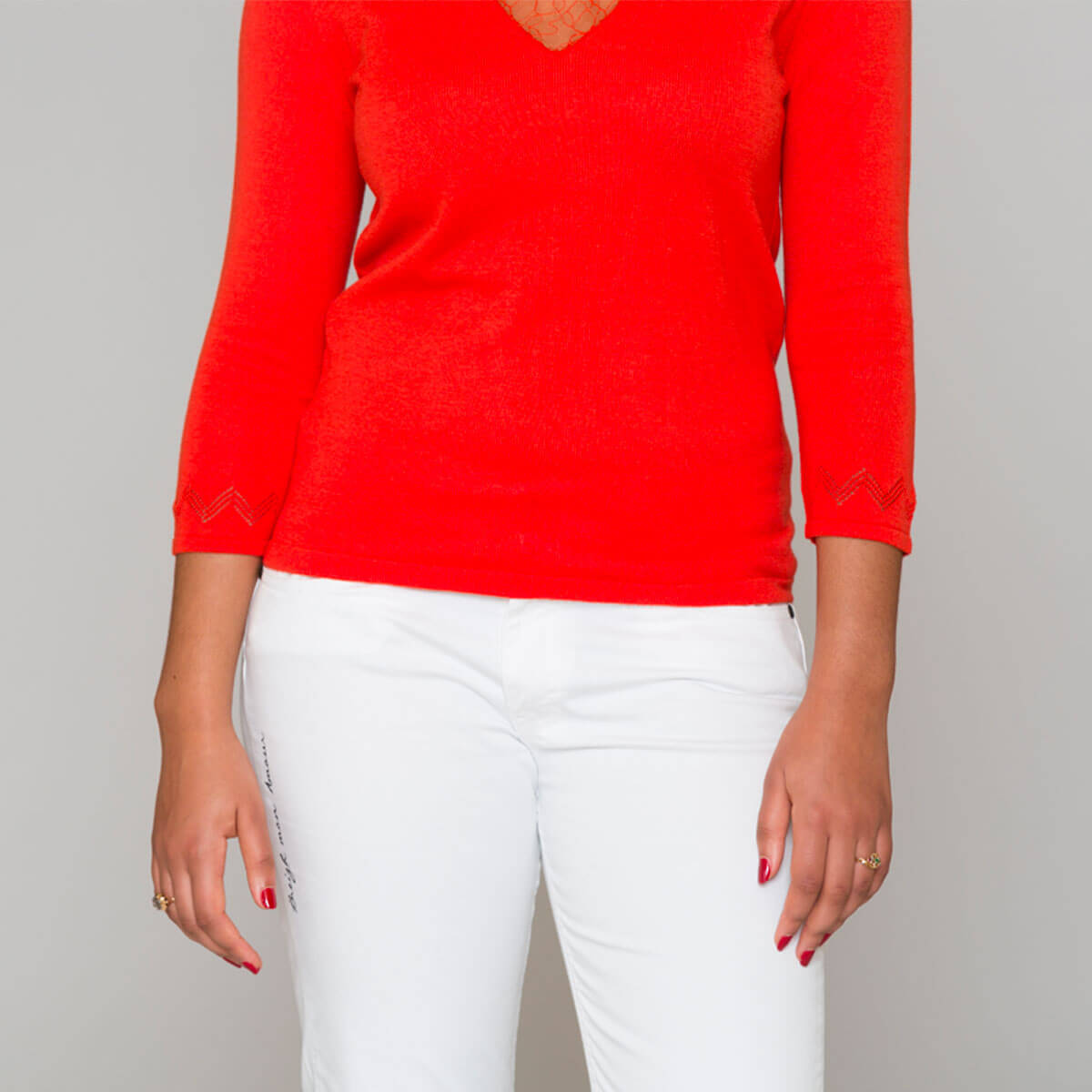 Pull-dentelle-chic-Rennes-orange-face