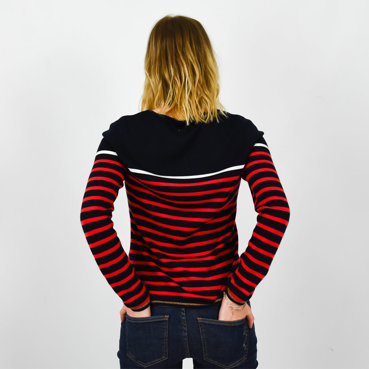 PULL BRETON MESSAGE PUNCH HIVERNAL DOS