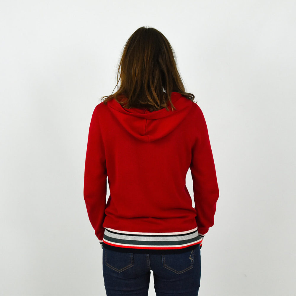 PULL-FEMME-A-CAPUCHE-MARIN-ROUGE-DOS