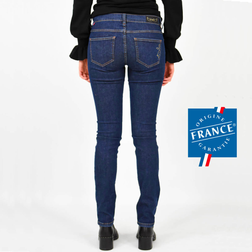 Jean made in France fabriqué en Bretagne origine France Garantie