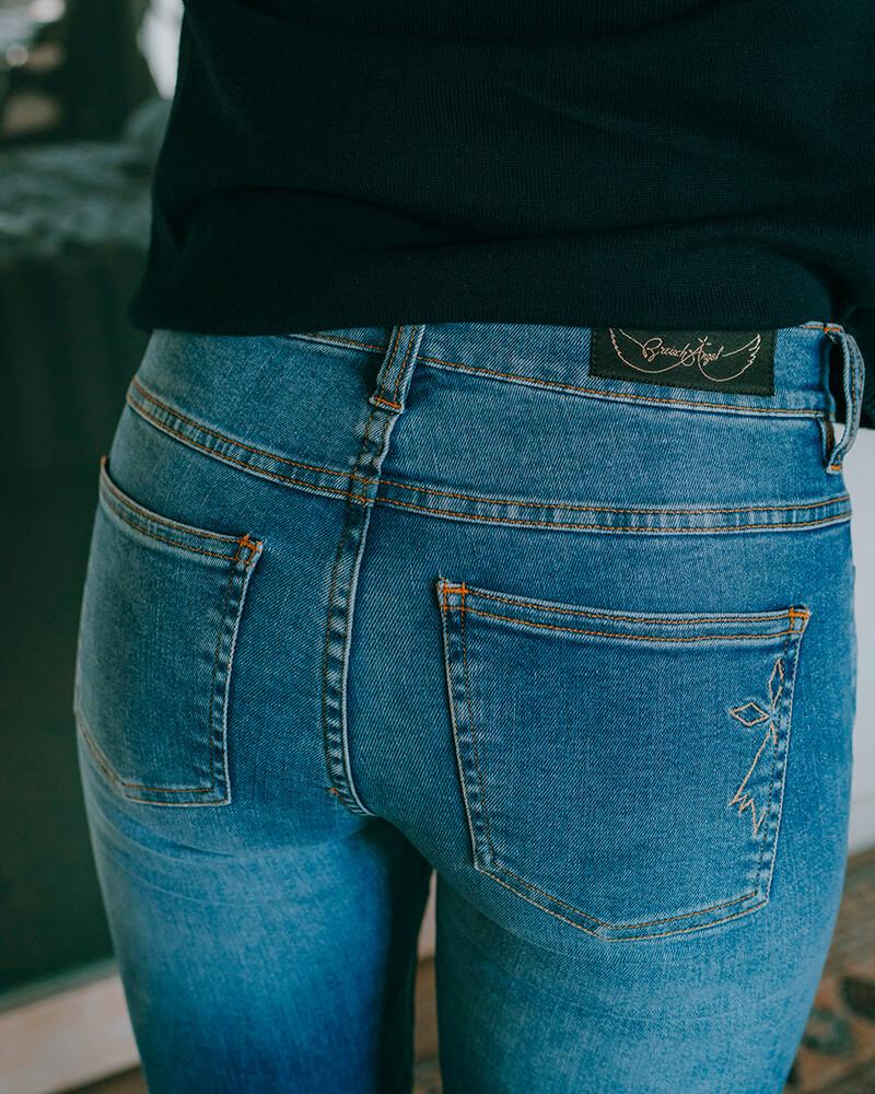 jean fabriqué en Bretagne hermine clair zoom poche
