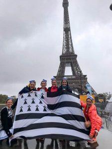 Les Marinières en Baskets drapeau breton