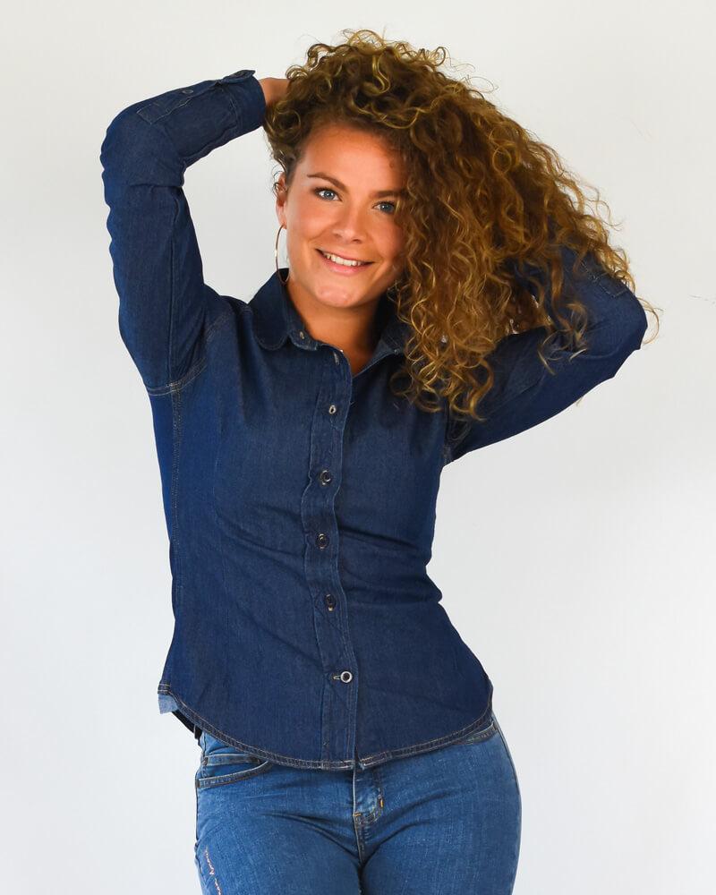 chemise en jean face