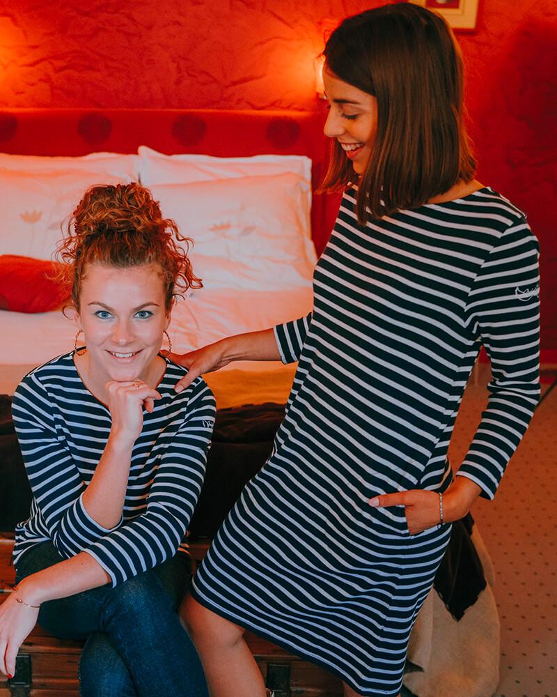 robe marinière benedicte et marinière Bonnie