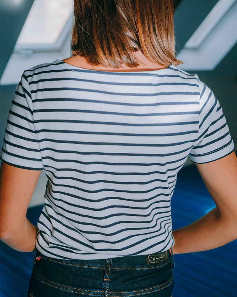 tee-shirt mariniere Bess dos