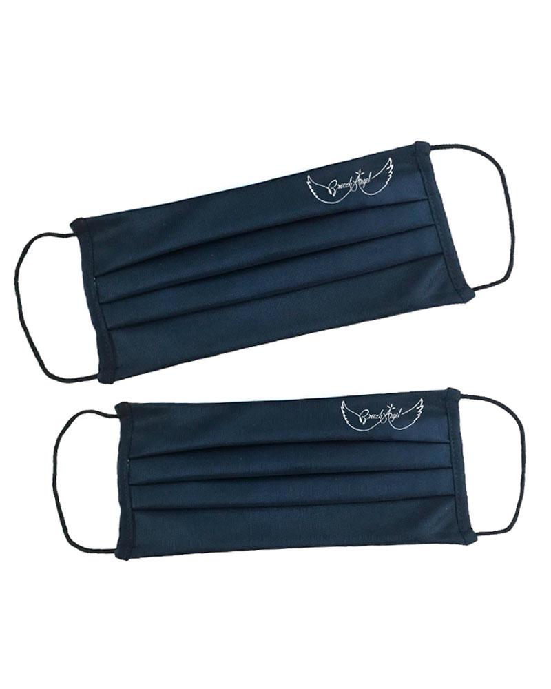 Masque-barrière-réutilisable-tissu-noir-logo-Breizh-Angel