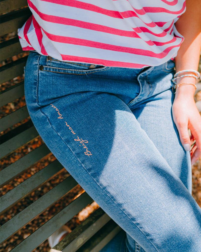 jean fabriqué en France-bas-marinière