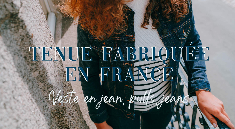 veste pull jean fabriqué en France