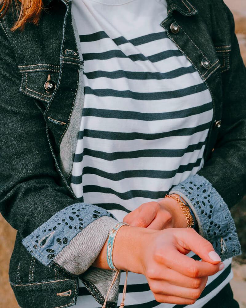 Veste en jean fabriquée en France femme Debbie