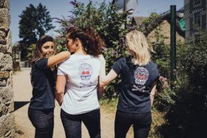 tee shirt marine femme rock fabriqué en france